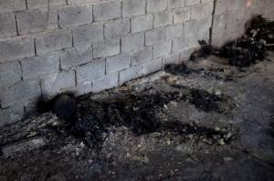 Menschenasche in Tripolis - weisser Phosphor?