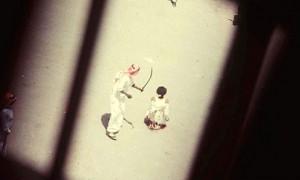 Eine Exekution in Saudi Arabien