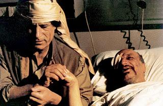 Krankenbesuch bei Arafat 1992
