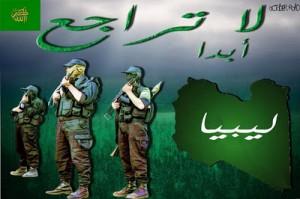 Libia resistencia verde