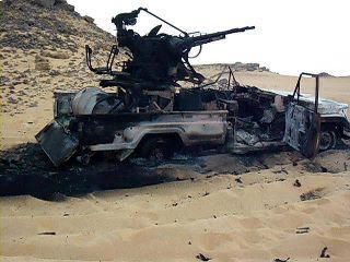 NTC-Jeep in Al-Kufra