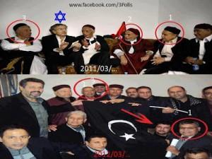 BHL 2011 mit den Köpfen der Teilung 2012 - Bild: LibyaSOS