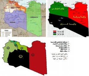 Teilung libyen