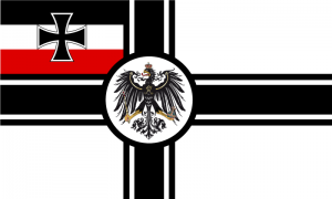 Deutsches Reich - Kriegsflagge (1903-1918) - Grafik: Wikipedia