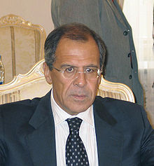 Sergei Wiktorowitsch Lawrow 2004 - Bild: Wikipedia