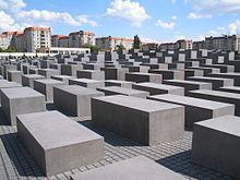 Holocaust-Mahnmal Berlin - Bild: wikipedia
