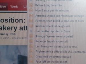 """CNN-Propagandalüge am Weihnachtsabend 24.12.2012: """"Gastote in Syrien"""""""