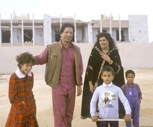 Gadaffi famiglia