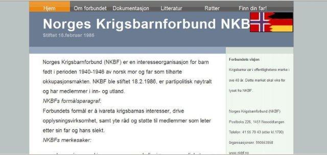 Norwegischer Kriegskindverband - NKBF (2)