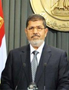 Mohammed Morsi, der Präsident Ägyptens - Bild: IGFM