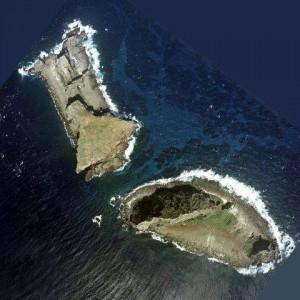 Kitakojima und Minamikojima / Senkaku-Inseln