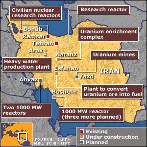 iran reaktoren