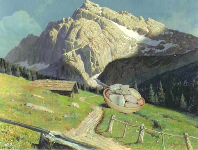 Nach dem Steinschlag II (2)