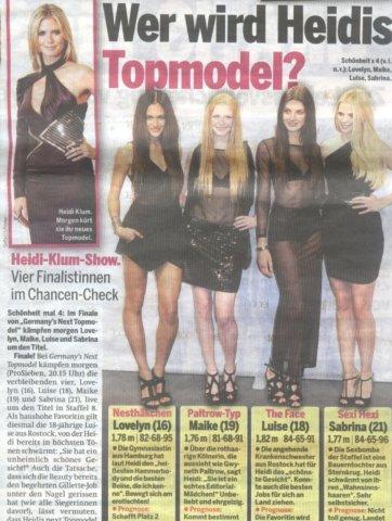 supermodel heidis