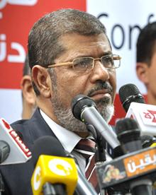 Mohammed Mursi im Präsidentschaftswahlkampf 2012  Bild: Wikipedia