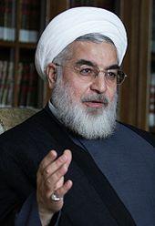 Irans neuer Präsident Hassan Rouhani - Foto: wikipedia
