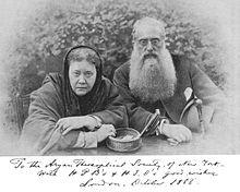 Blavatsky und Olcott 1888 - Bild: Wikipedia