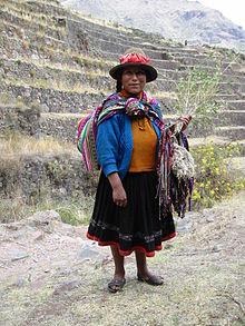 Quechua-Frau in Peru - Foto: wikipedia