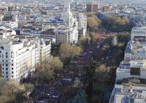 22M - Mega-Demo in Madrid