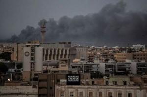 Tripolis nach dem Bombardement 23.8.14