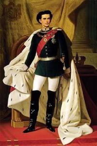 König II. von Bayern, 20 Jahre alt, Bild: Wikipedia