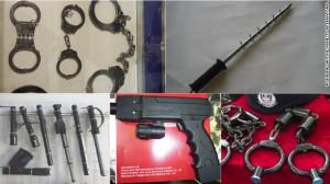 """Polizei-Werkzeuge """"made in China"""" zum weltweiten Export - je nach Sitten und Gebräuchen dornig"""
