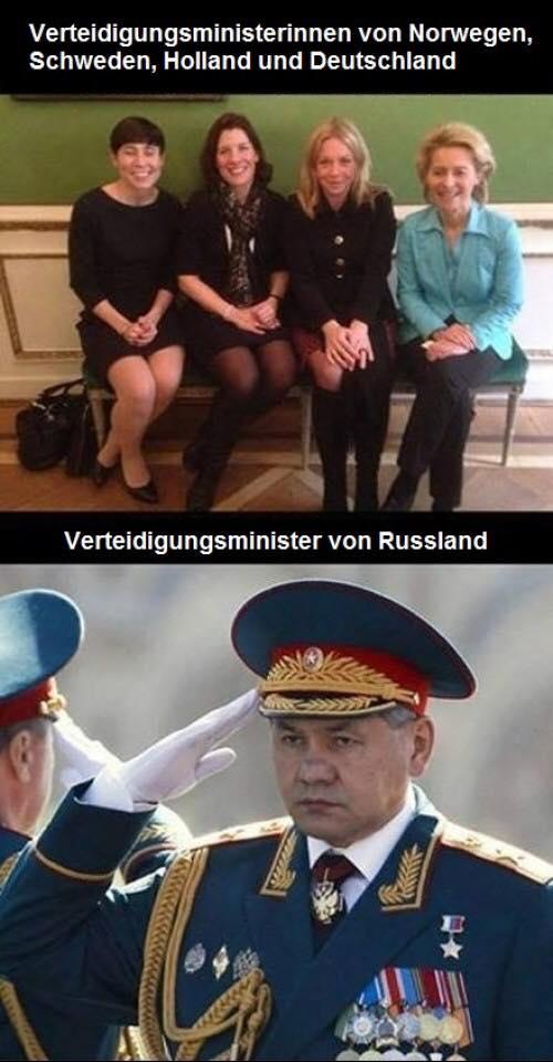 Verteidigungsministerinnen