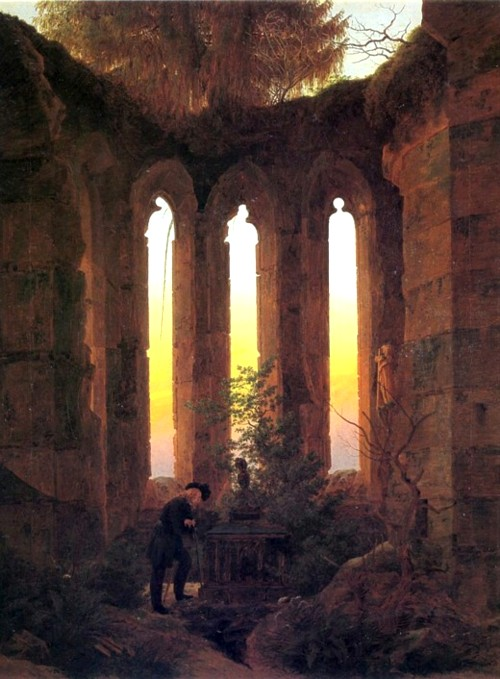 Caspar_David_Friedrich_-_Huttens_Grab_ a