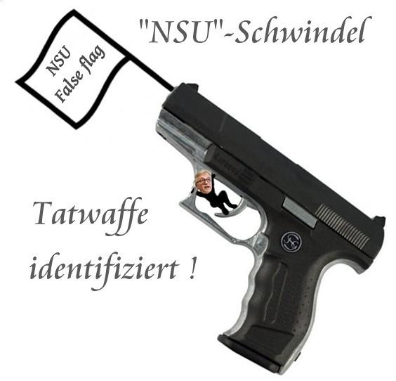 NSU Tatwaffe identifiziert