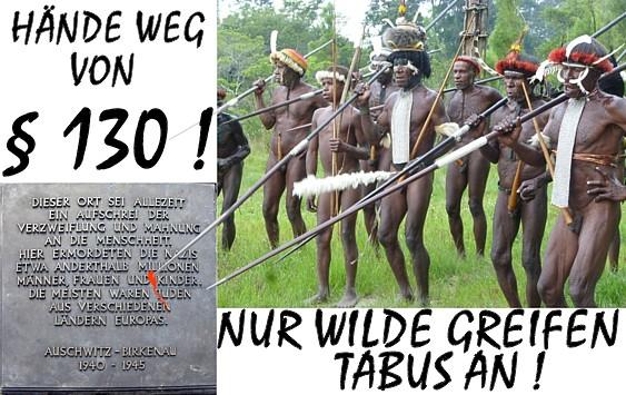 Nur Wilde greifen Tabus an