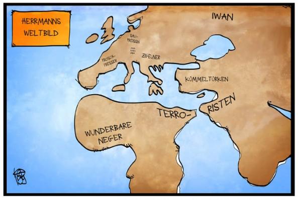 Karikatur:© Kostas Koufogiorgos, www.koufogiorgos.de